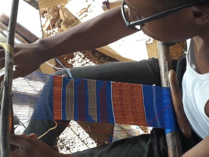Kofi Asare Weaving Image