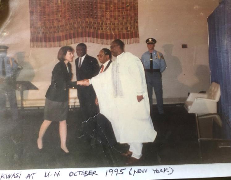 Kwasi Asare UN Presentation Acceptance