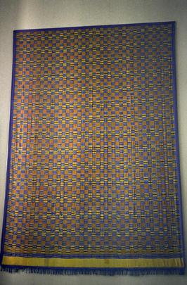 United Nations Kente Cloth by A.E. Asare