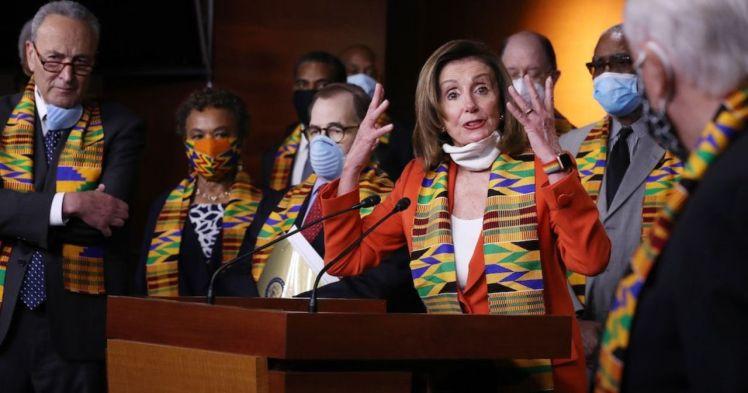 Nancy Pelosi Kente